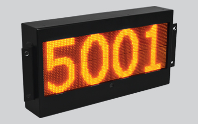 TRAIN NUMBER INDICATOR